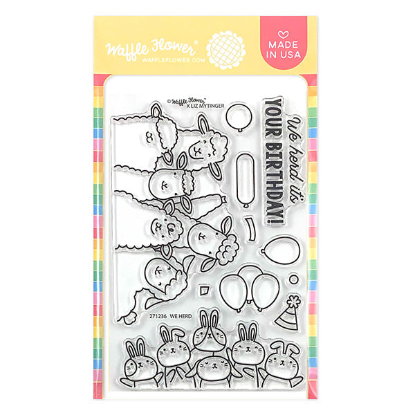 We Herd Stamp Set