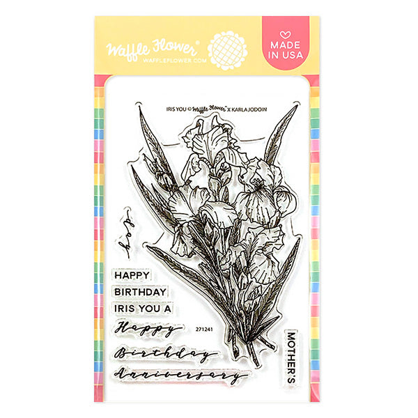 Iris You Stamp Set