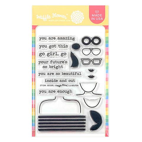 Go Girl Stamp Set