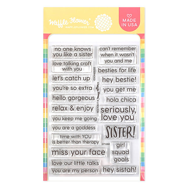 Sisterhood Stamp Set