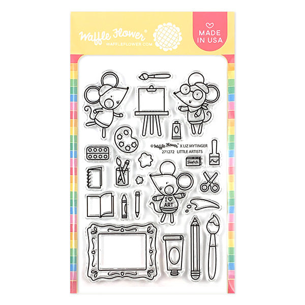 Little Artists Stamp Set