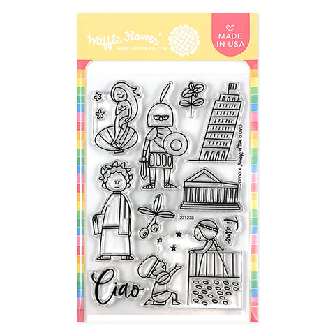 Ciao Stamp Set