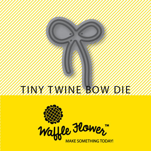 Tiny Twine Bow Die