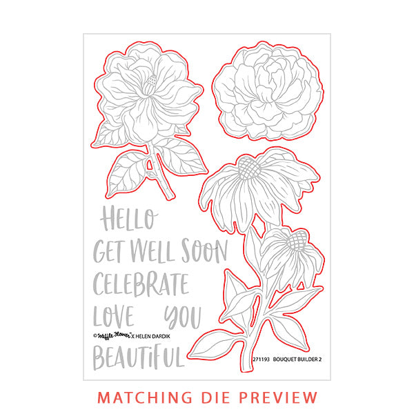 Bouquet Builder 2 Matching Die