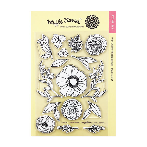 Bouquet Builder 7 Matching Die