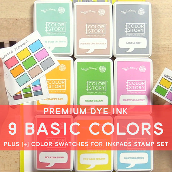 Ink Bundle - 9 Basic Colors