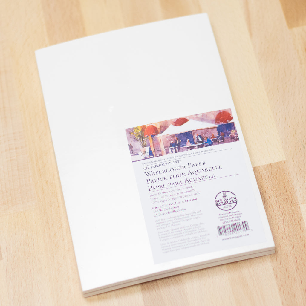 Watercolor Paper 140lb (25/PK)