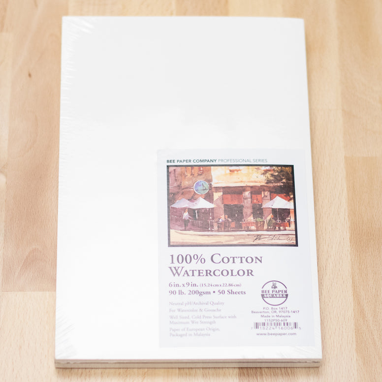 Watercolor Paper 90lb (50/PK)