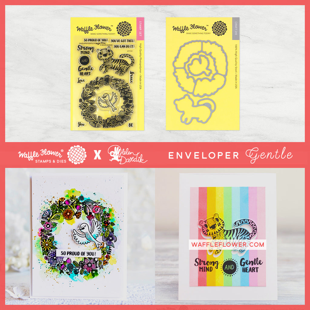 Enveloper Gentle Stamp Set