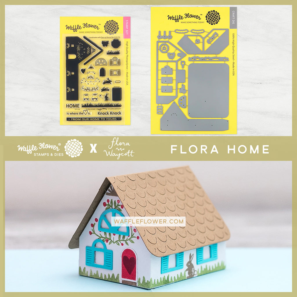 Flora Home Pop Up House Combo