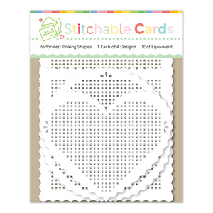 Perforated Pinking Shapes