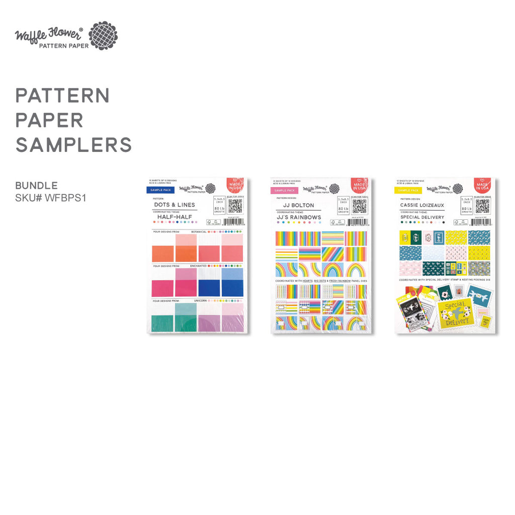 Pattern Paper Samplers Bundle