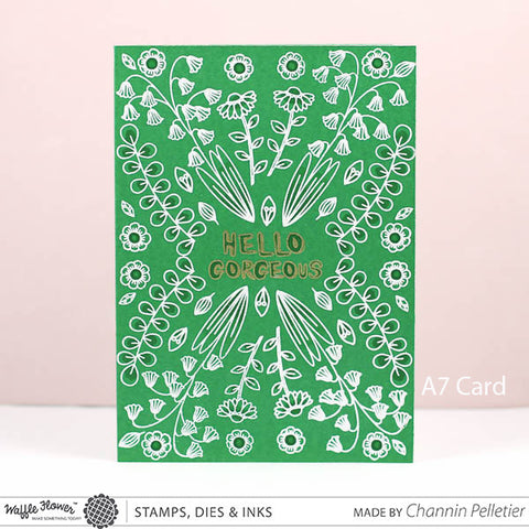 Pretty Foliage Stamp Set