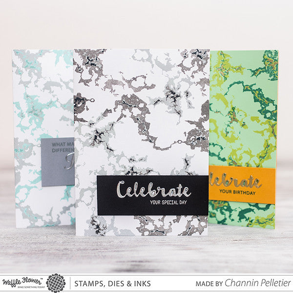 Layering Marble Stamp Set
