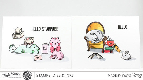 Hello Stampurr Stamp Set