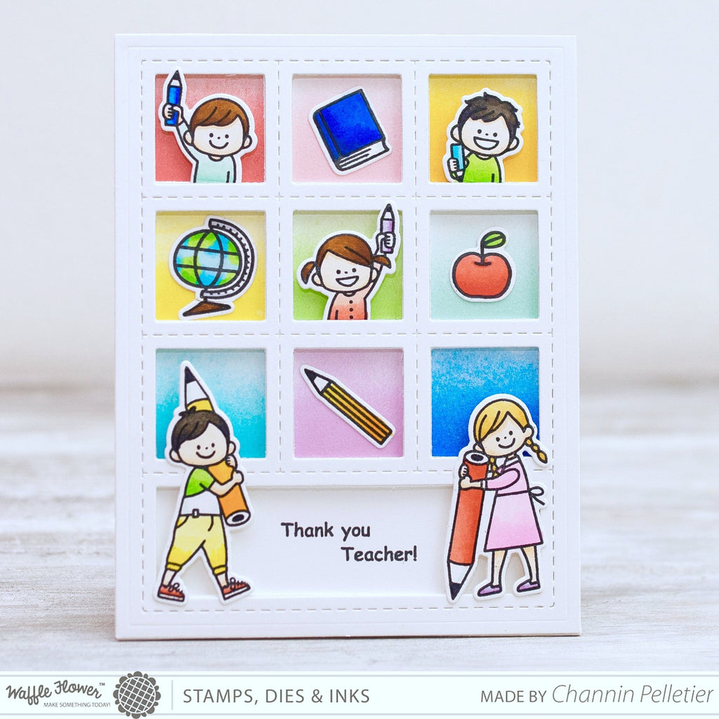 Pencil In Stamp Set