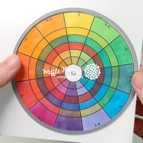 Color Wheels Stamp Set