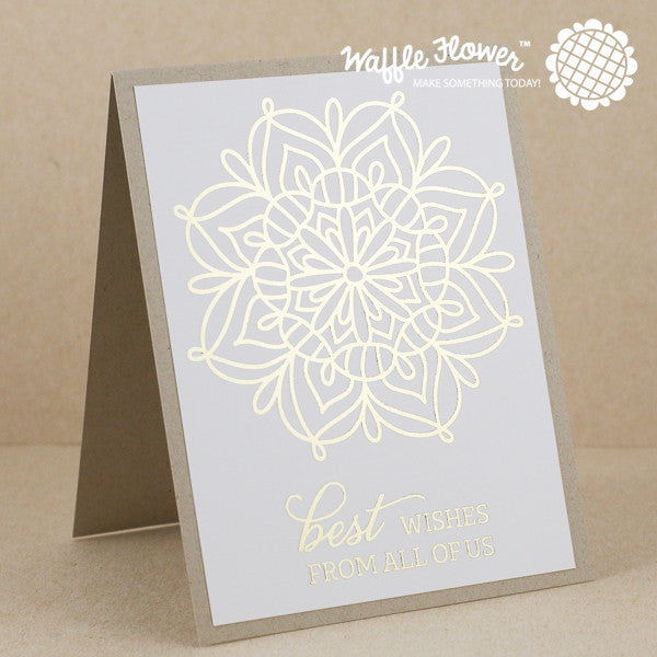 Lacy Flower Stamp Set