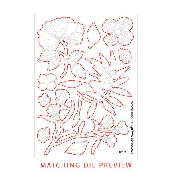 Bouquet Builder 1 Matching Die