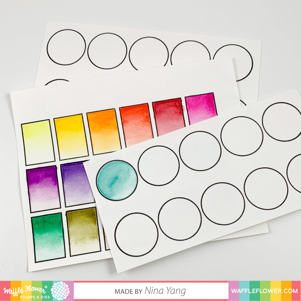 Color Swatches for Watercolors