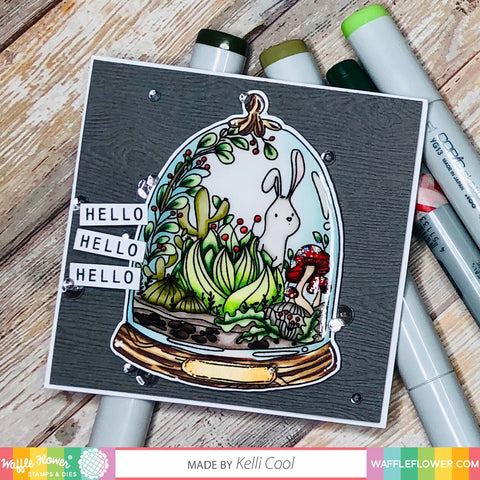 Tiny Terrarium Stamp Set