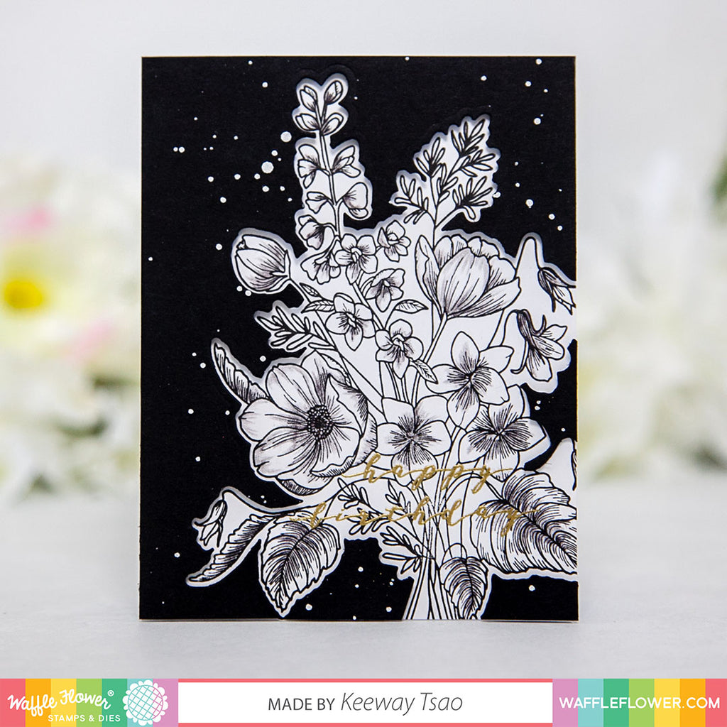 Bouquet Builder 3 Matching Die