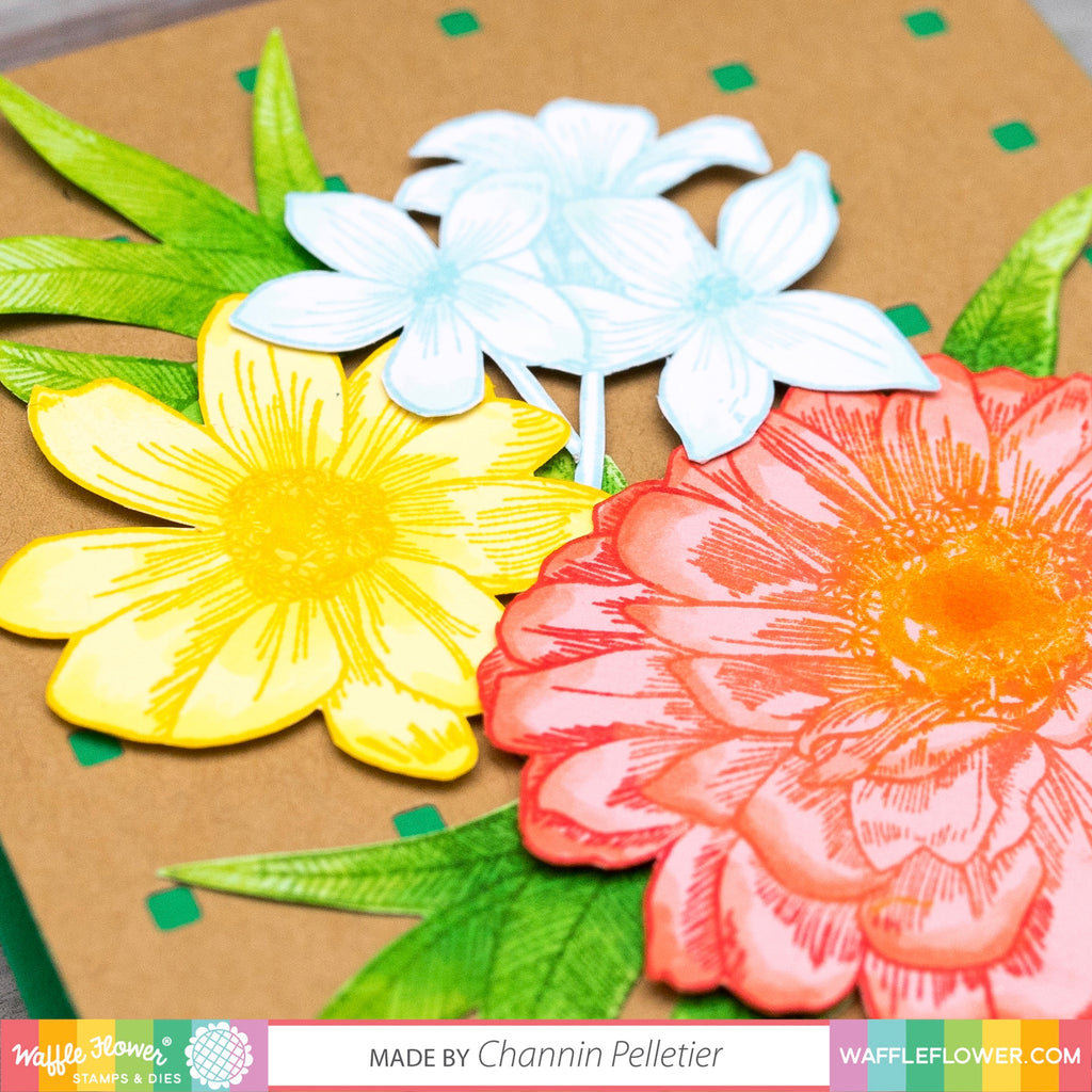 Zinnia Stamp Set