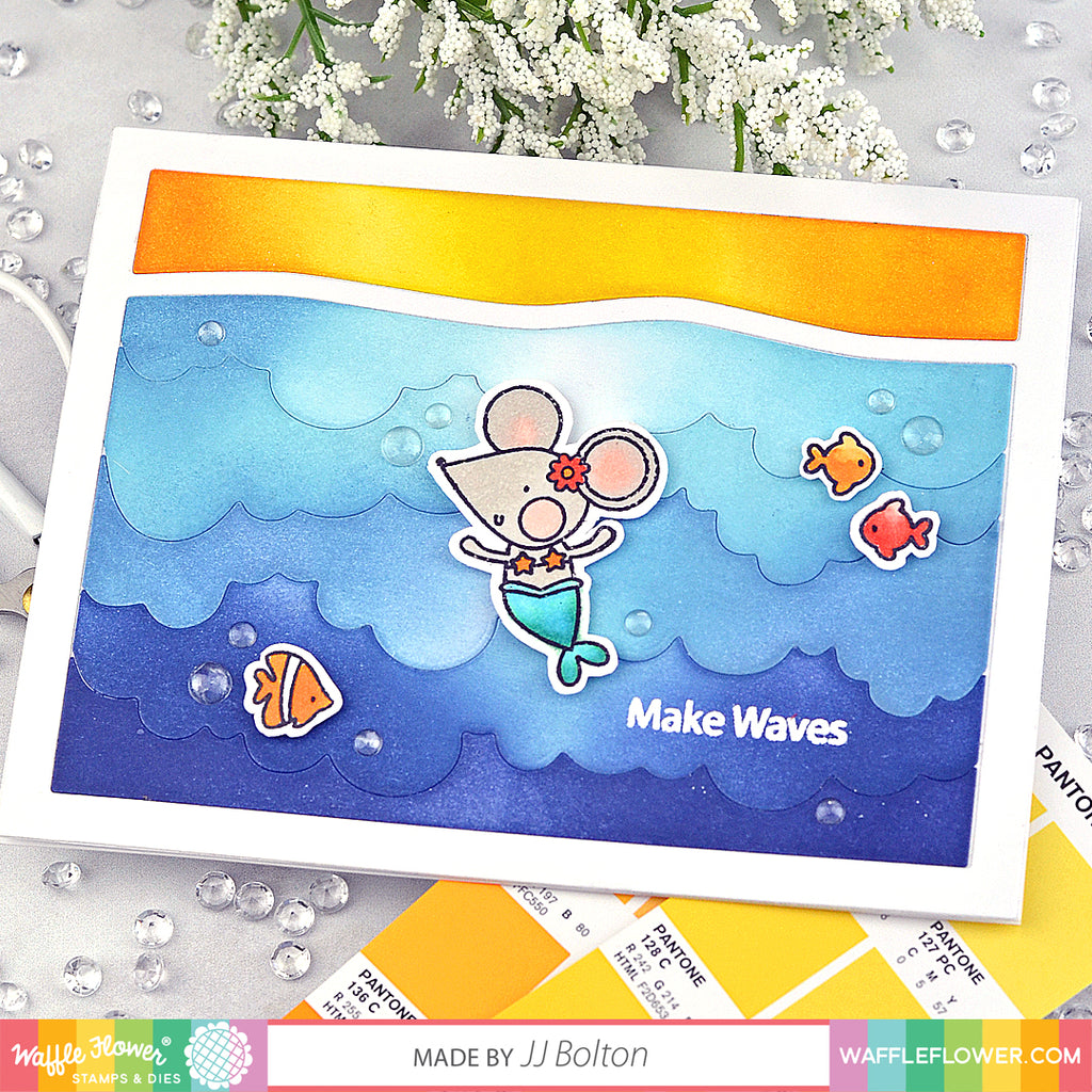 Make Waves Stamp Set