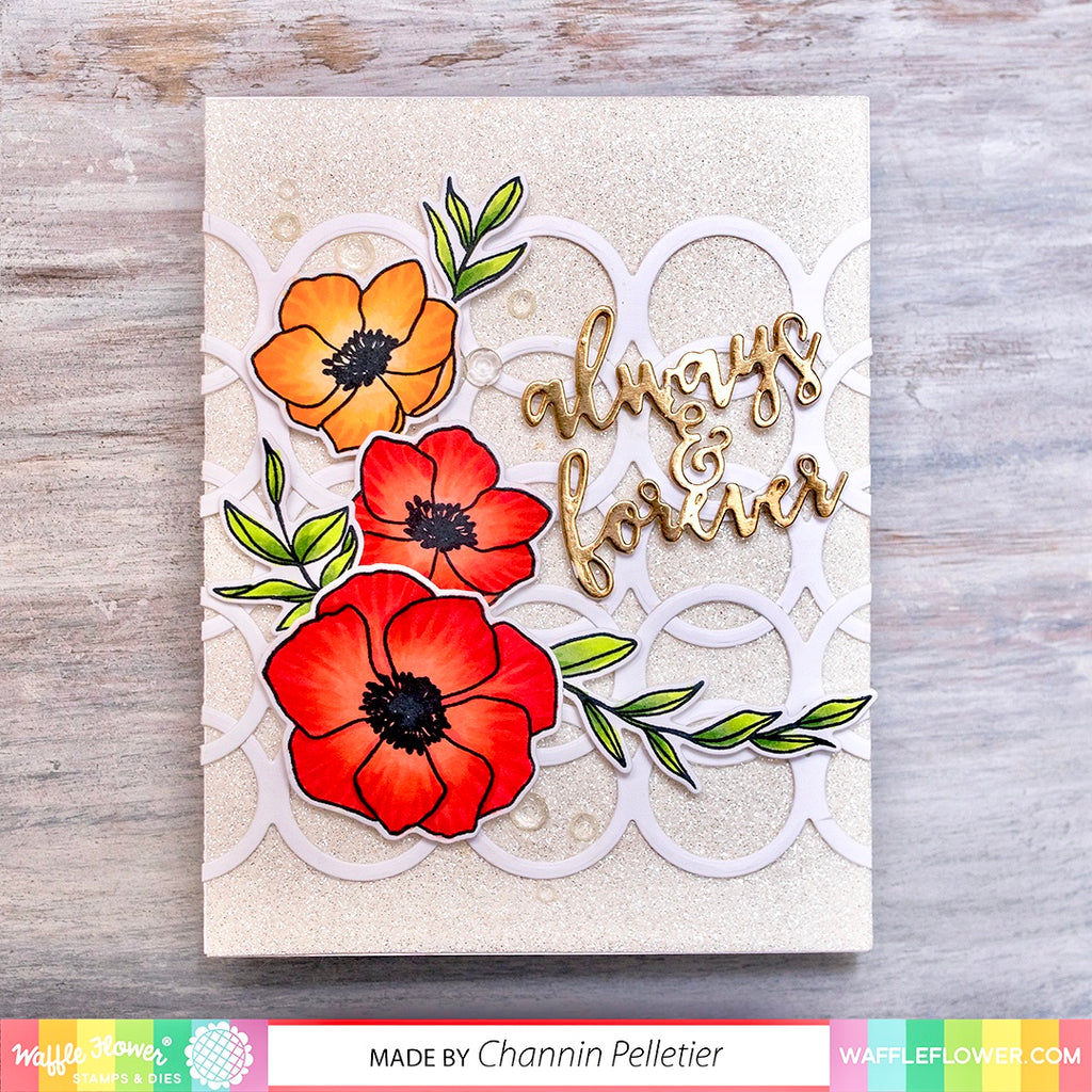 Watercolor Swatches Matching Die