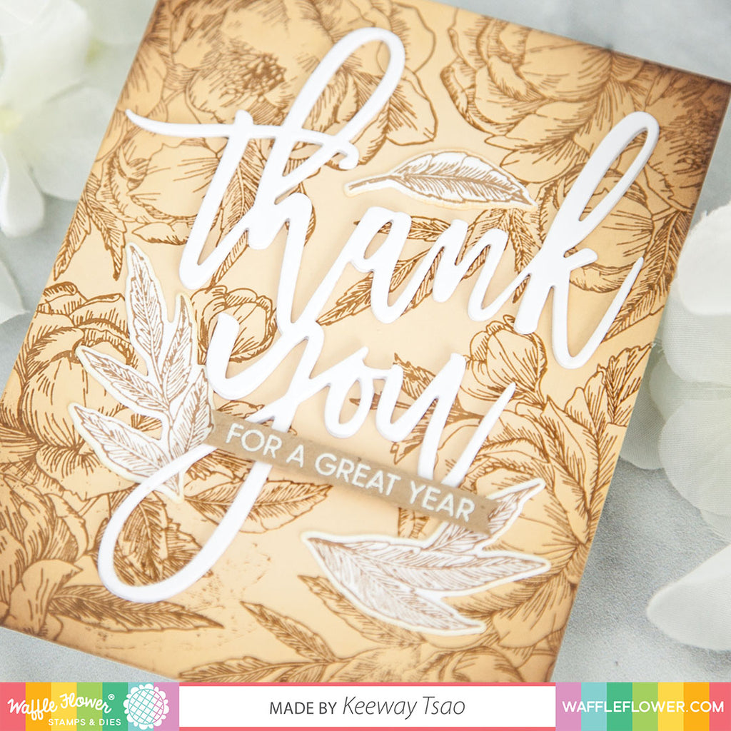 Oversized Thank You Die