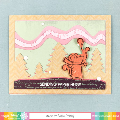 Thankful Mouse Stamp Set