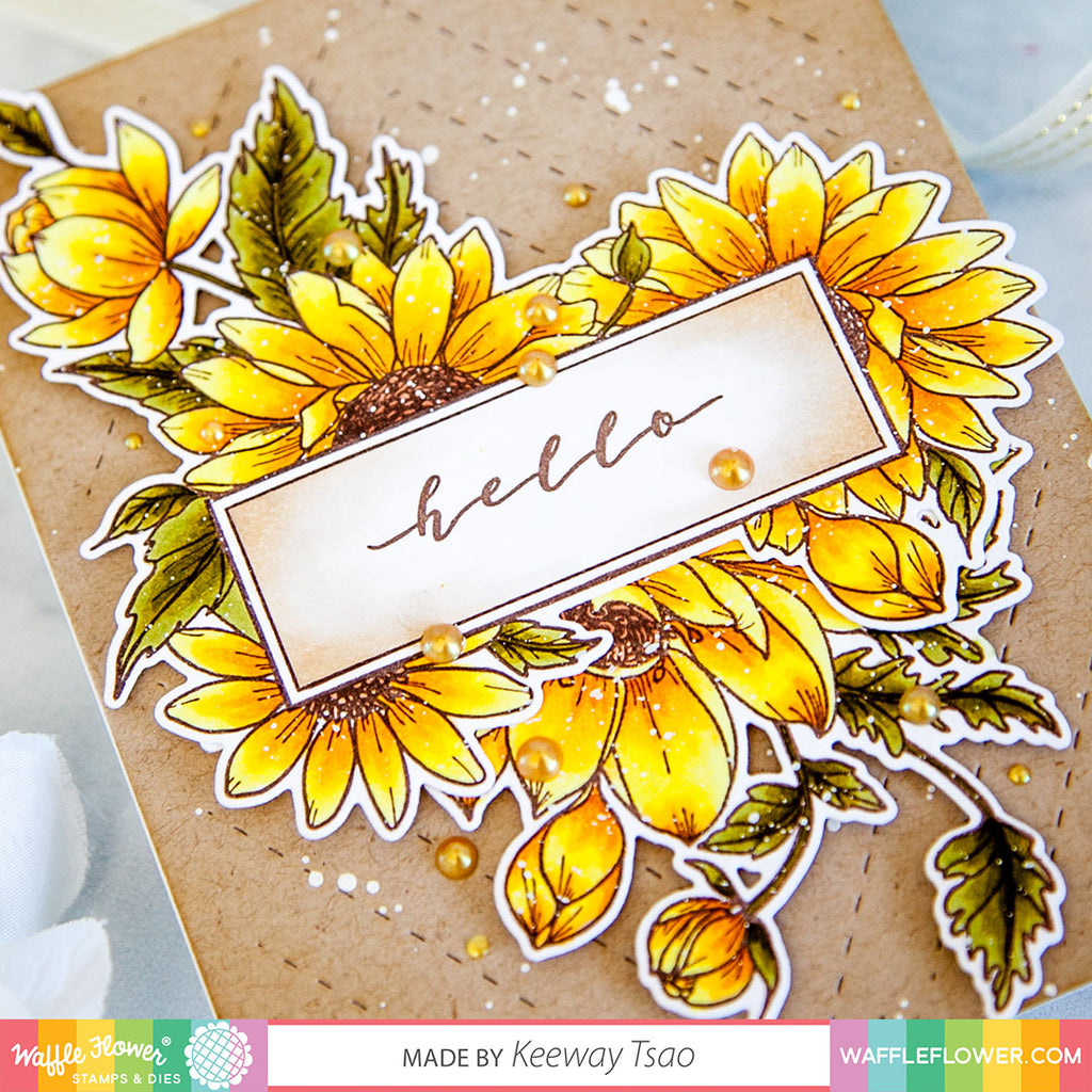 Sunflower Love Matching Die