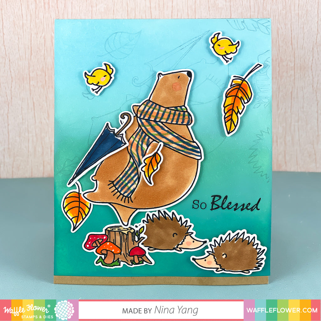 Blessed Bear Stamp Set