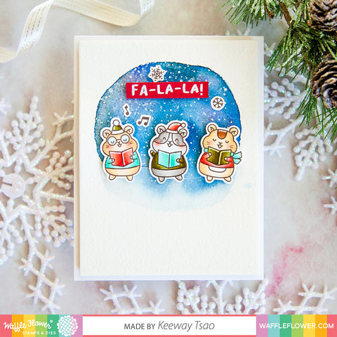 Winter Hamsters Stamp Set