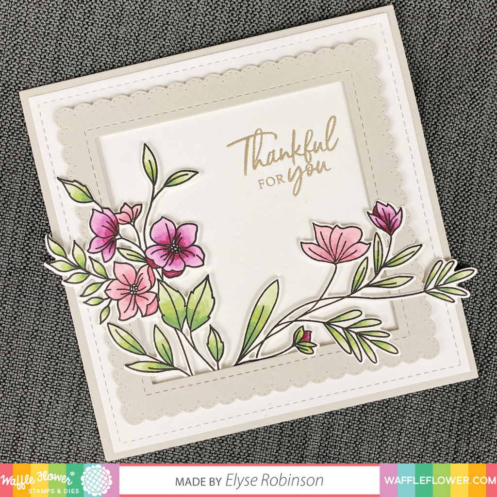 Bouquet Builder 6 Stamp Set