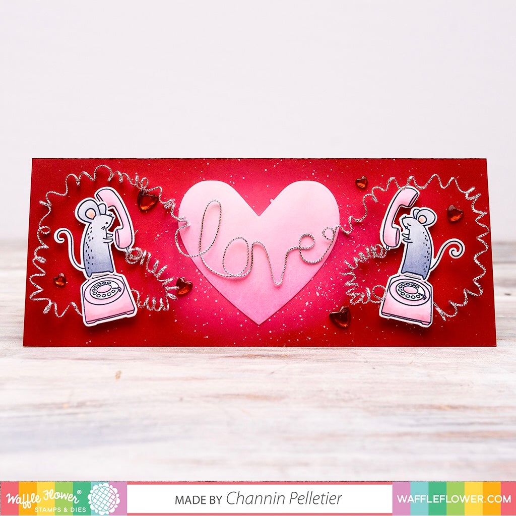 Waffle Flower Secret Admirer Stamp Set