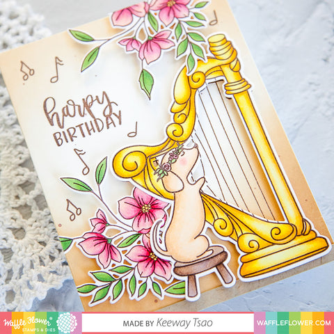 Harpy Birthday Stamp Set
