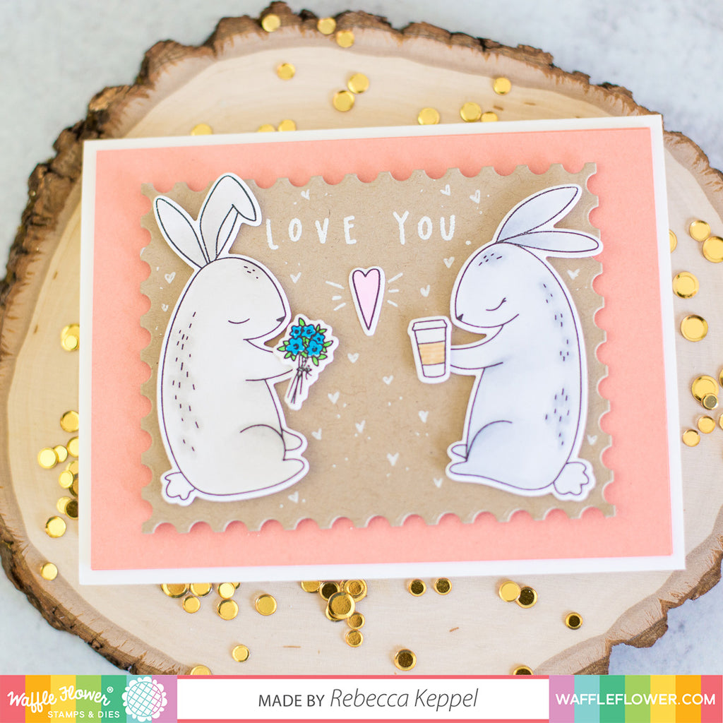 Love You Bunnies Stamp Set