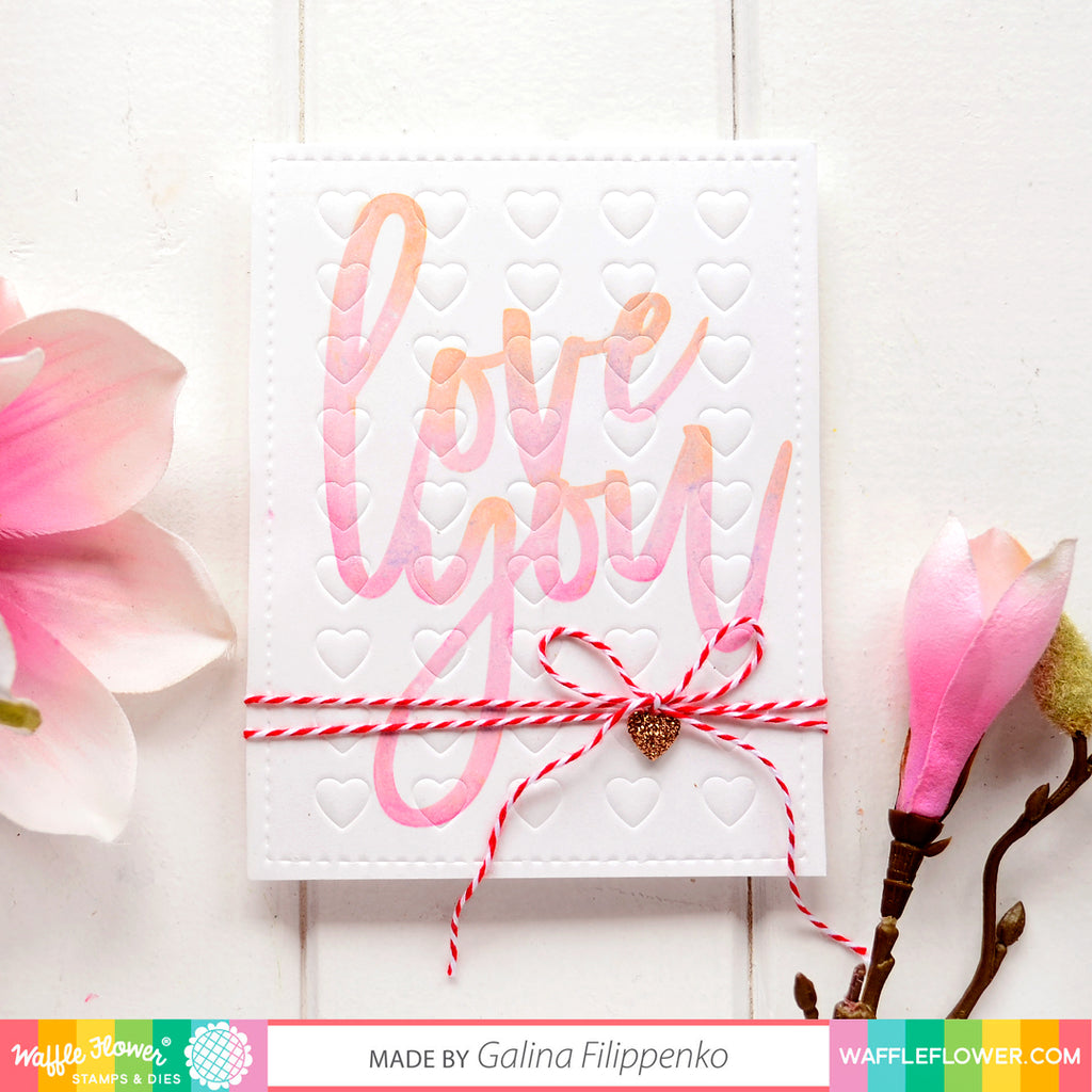 Oversized Love Stamp Set