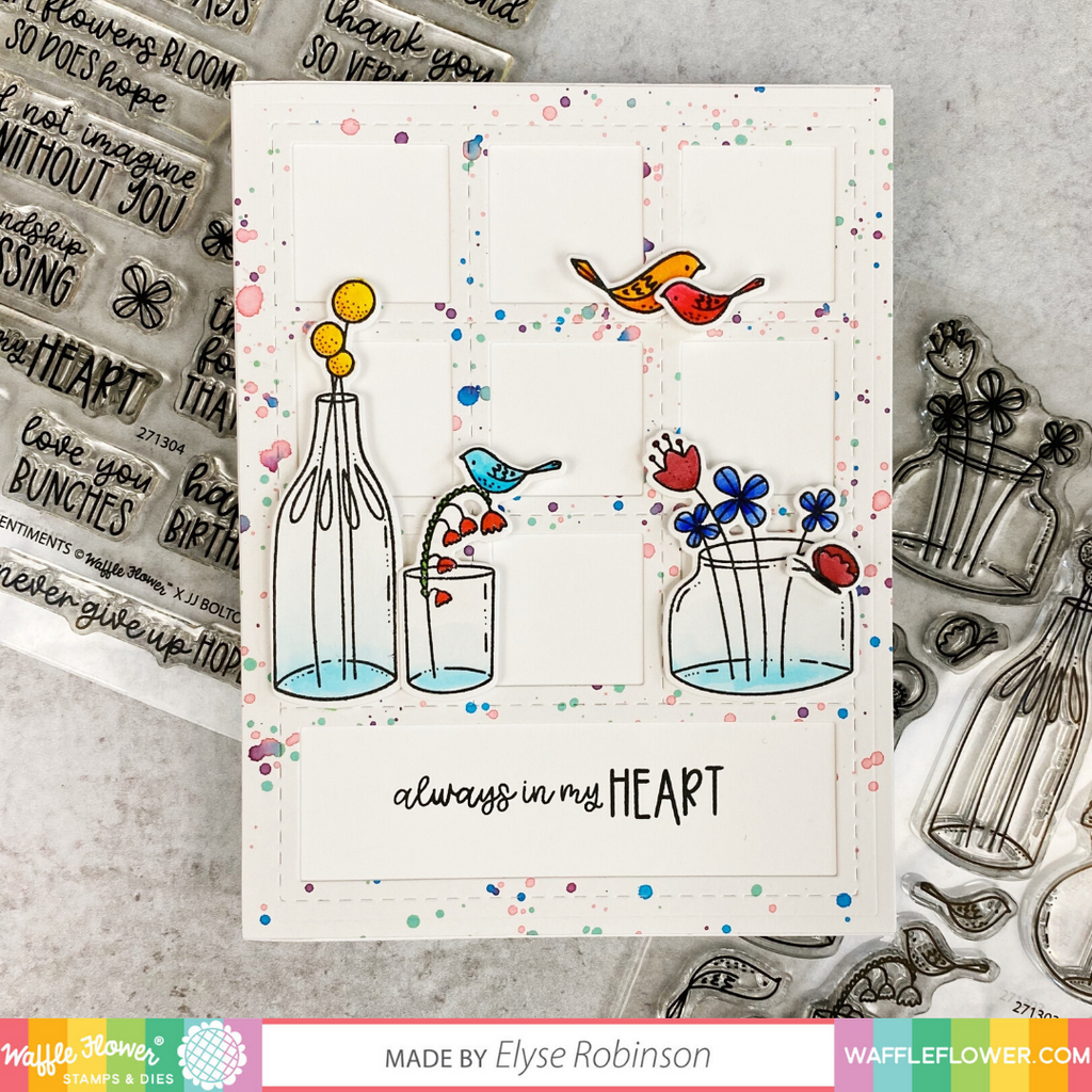 Jars of Happiness Stamp Set