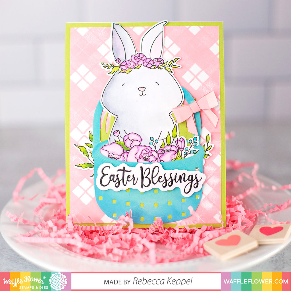 Rejoice Rabbit Stamp Set