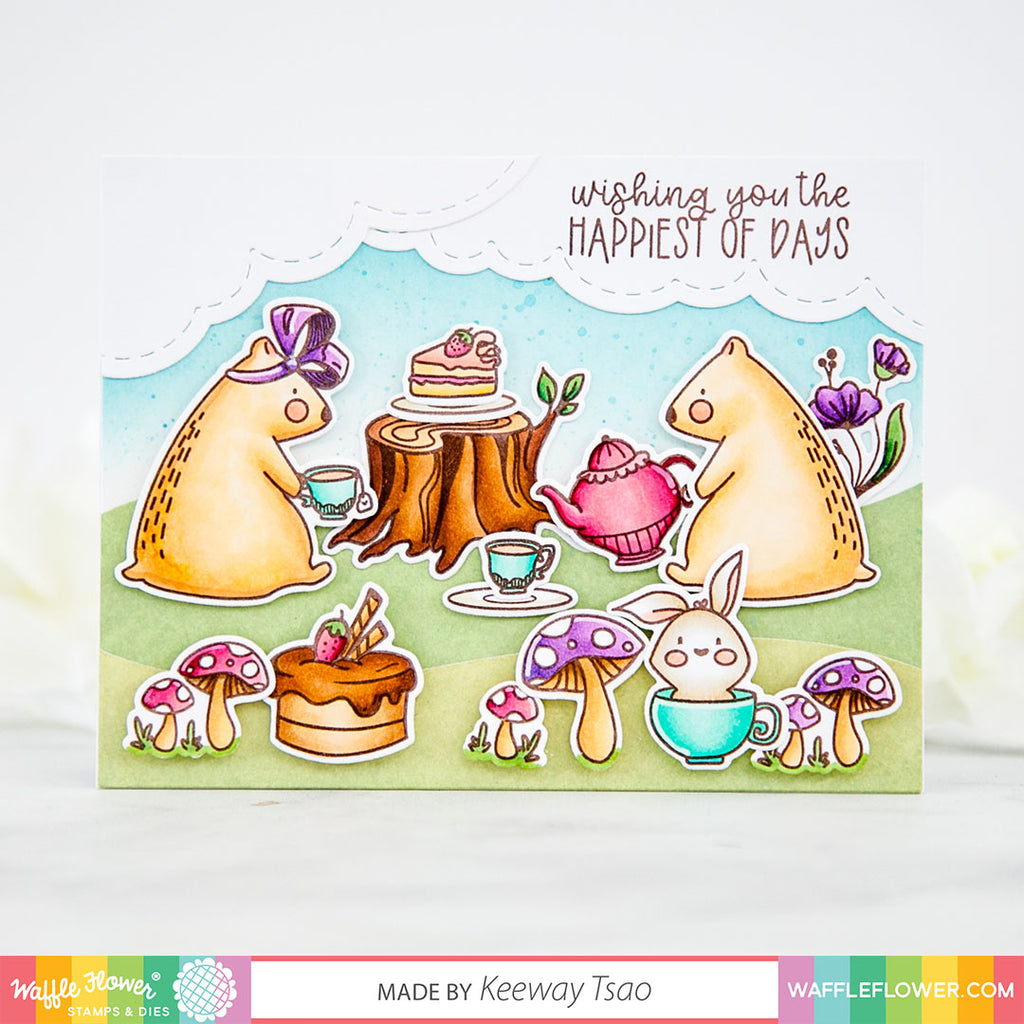 Tea for Two Stamp Set