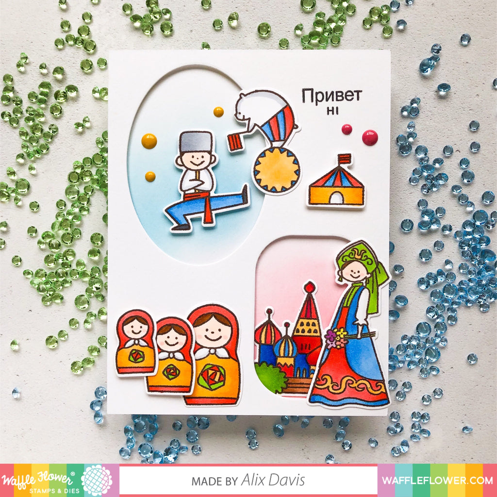 From Russia with Love Stamp Set