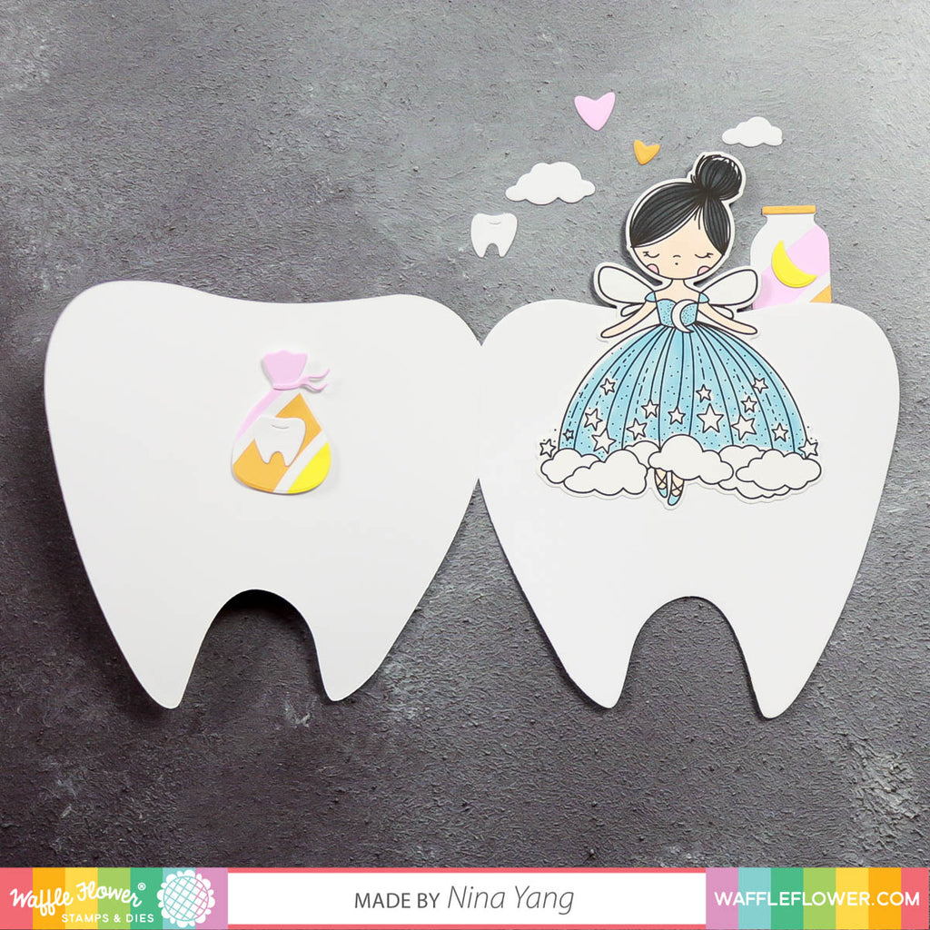 Tooth Fairy Shapes Die