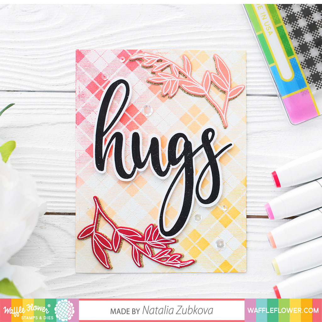 Oversized Hugs Stamp Set