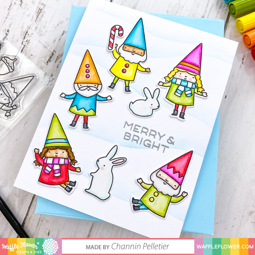 Happy Gnomes Stamp Set