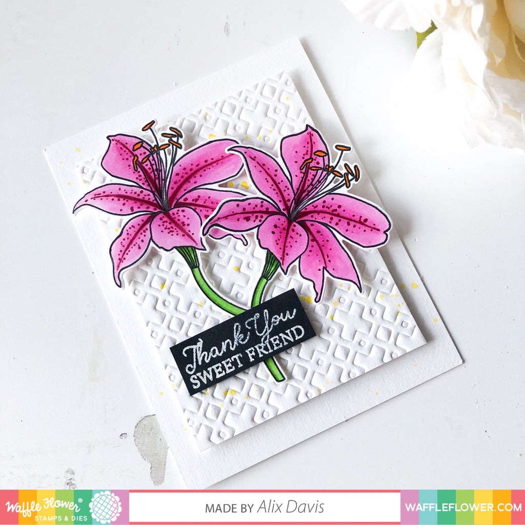 Bouquet Builder 4 Matching Die