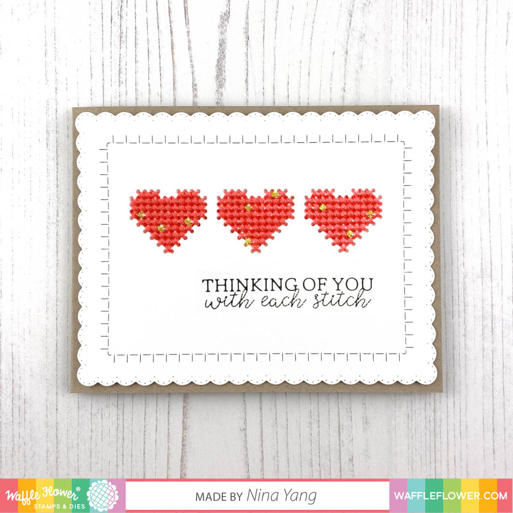 Free Patterns for Stitchable Borders