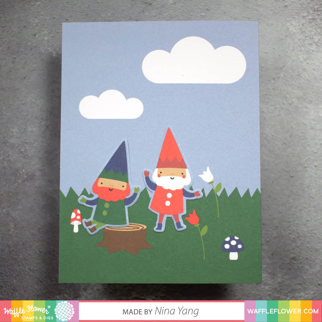 Happy Gnomes Paper Pad