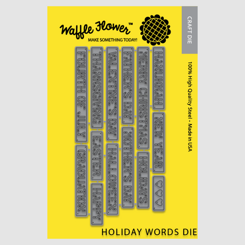 Holiday Words Die